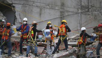 Sismo 19S Santiago Schietekat bombero voluntario