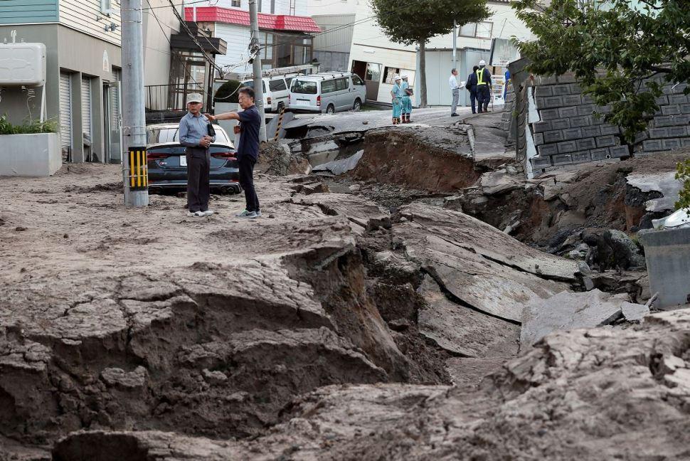 Sismo en Japón sigue rescate de víctimas