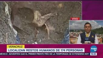 Suman 178 Cráneos Localizados Fosas Clandestinas Veracruz