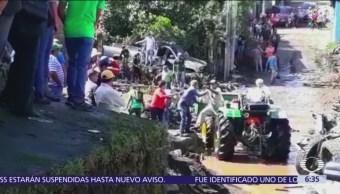 Suman 7 muertos por tromba en Peribán, Michoacán