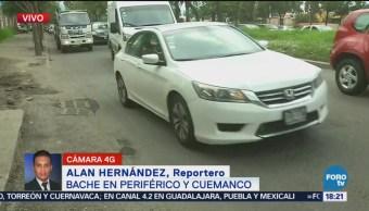 Tapan Bache Periférico Cuemanco Fue Atropellado Por Un Camión