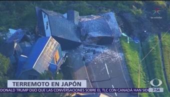 Terremoto sacude la isla Hokkaido de Japón, hay 9 muertos