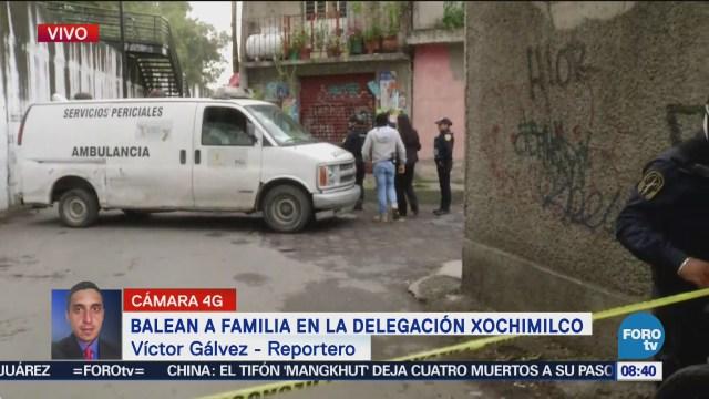 Testigos de balacera en Xochimilco la confunden con cohetes