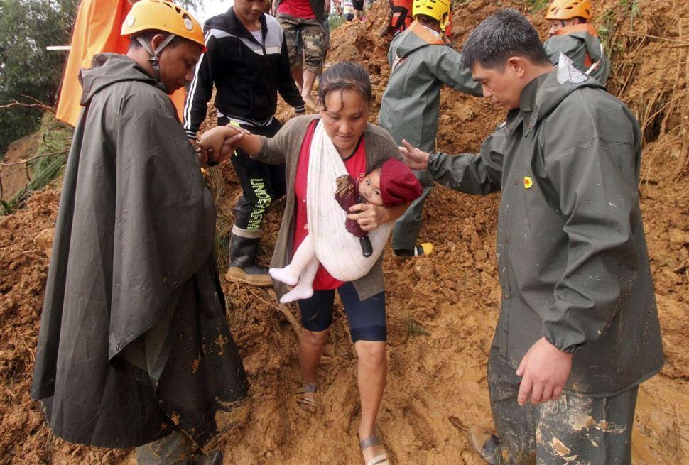 Más de medio centenar de muertos por el tifón Mangkhut en Filipinas