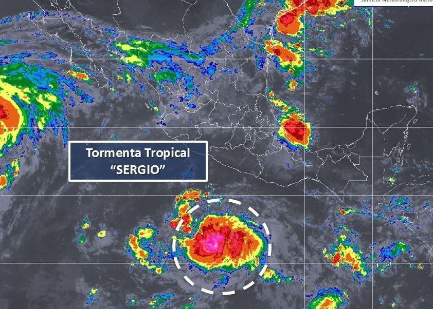 Se Forma Tormenta Tropical Sergio Cerca De Acapulco