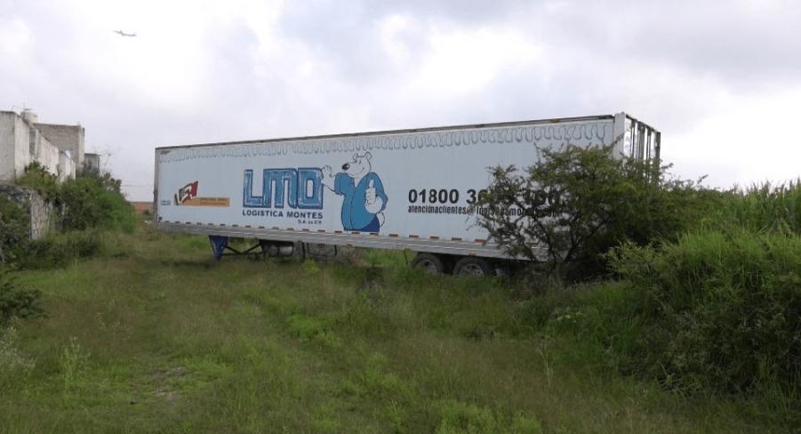 Tráiler con cadáveres deambuló en Jalisco