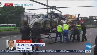 Trasladan Menor Accidentada Helicóptero Cóndores