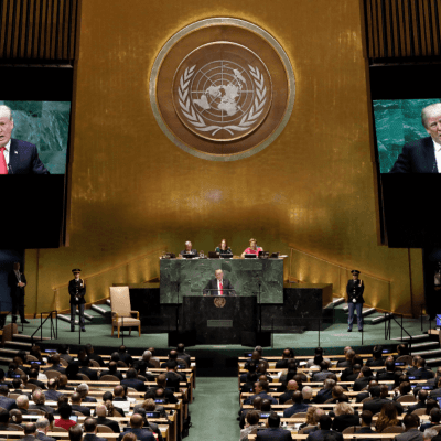 Trump pide en la ONU 'restaurar la democracia' en Venezuela