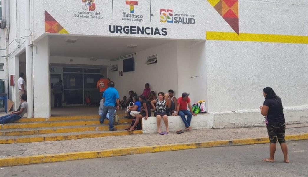 Paro de labores en hospitales de Tabasco