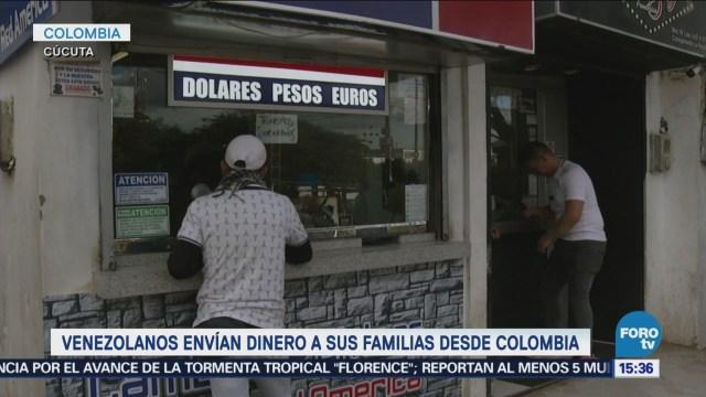 Venezolanos Colombia Mandan Dinero Sus Familias