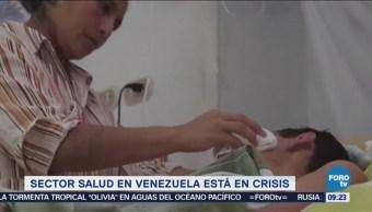 Venezuela enfrenta una crisis sanitaria