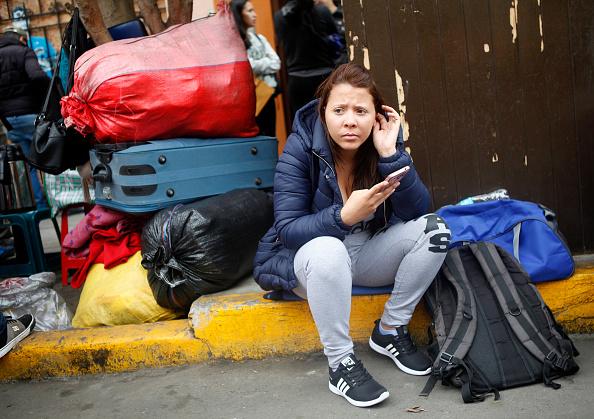 Avión con 92 venezolanos regresa a Caracas desde Ecuador
