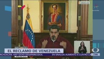 Venezuela reitera acusaciones contra México por conspirar