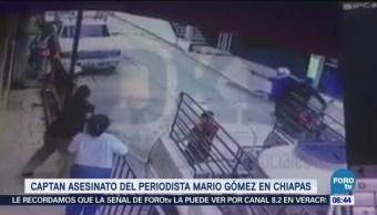 Video Asesinato Periodista Mario Gómez Chiapas