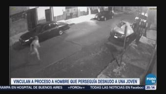 Vinculan Proceso Hombre Desnudo Acosó Mujer Azcapotzalco