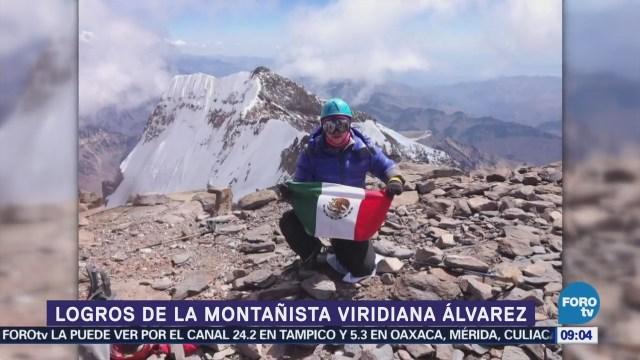 Viridiana Álvarez, montañista mexicana que escaló el Everest