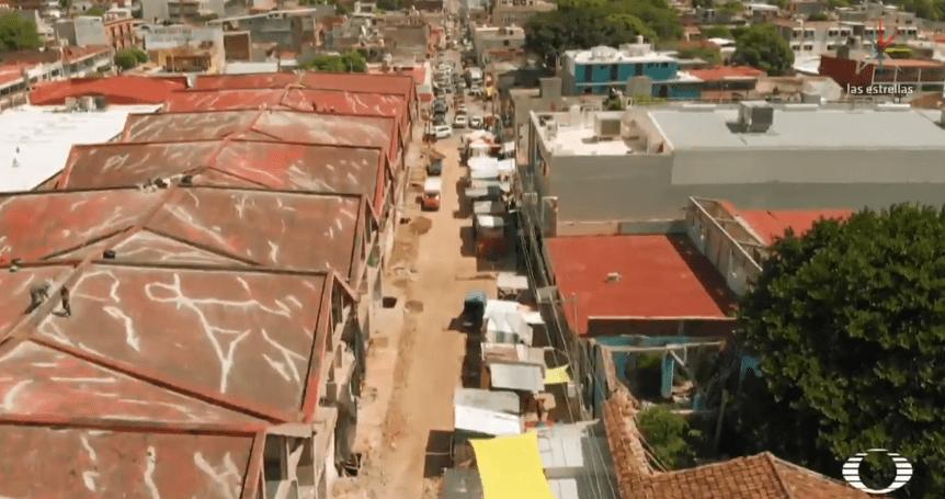 En Juchitán, todavía hay escombros del sismo 7S en las calles
