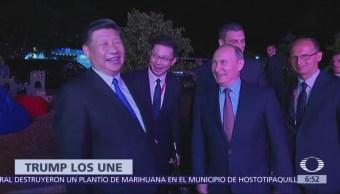 Vladimir Putin y Xi Jinping se reúnen y cocinan juntos