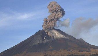 Ceniza volcánica del Popocatépetl cae en 9 delegaciones de CDMX