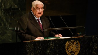 Siria exige ante ONU retiro inmediato de fuerzas extranjeras