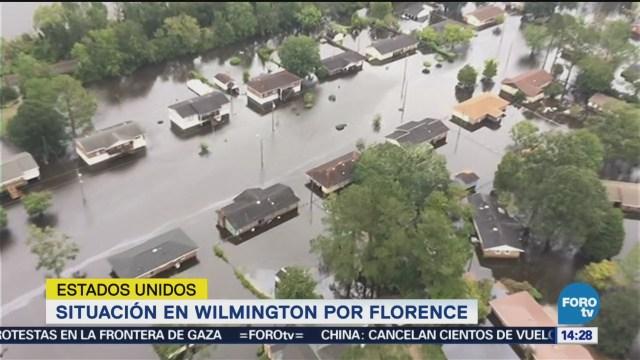 Wilmington Sigue Emergencia Por Inundación Florence