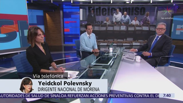 Yeidckol Polevnsky: Morena revisará detalles del fideicomiso para evitar nueva confusión