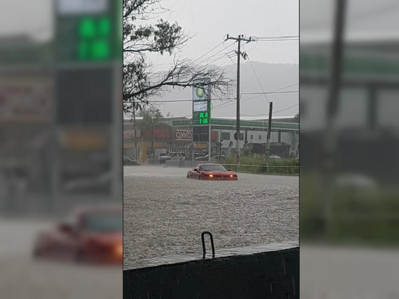 Zona Metropolitana de Guadalajara se colapsa por tres días de lluvia