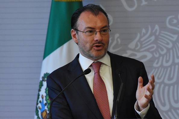 USMCA no afecta comercio con China: Videgaray a canciller chino
