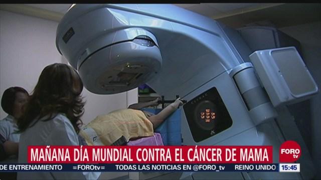 19 de octubre, Día mundial del cáncer de mama