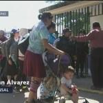 400 migrantes salvadoreños ingresan a territorio mexicano