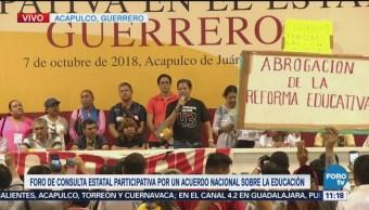 Impiden realización de Foro sobre Educación en Guerrero