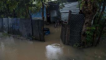 Lluvias inundan más de mil viviendas en Nicaragua