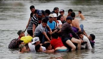 CNS supervisa situación de migrantes en Ciudad Hidalgo, Chiapas