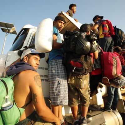 Hasta el momento 1,743 migrantes han solicitado refugio en México