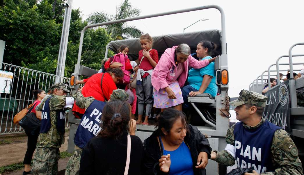 Clima Sinaloa; desalojan 6 mil habitantes Escuinapa Willa