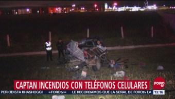 Accidente automovilístico deja dos muertos en la autopista México Pachuca