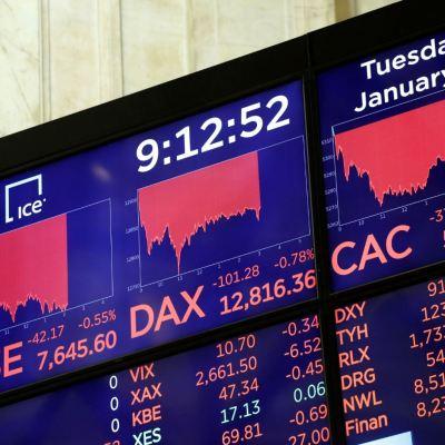 Acciones de Europa repuntan, perfilan semana más baja desde febrero