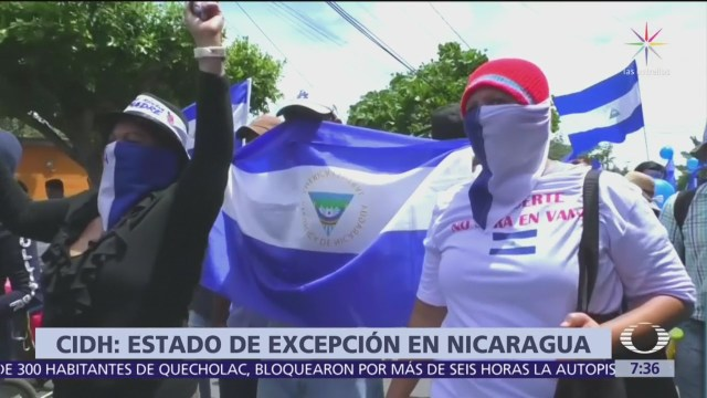 Acusan de terrorismo a 9 manifestantes anti Ortega en Nicara
