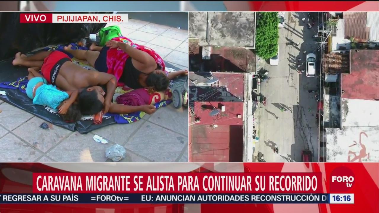 Advierten por riesgos de salud para la caravana migrante