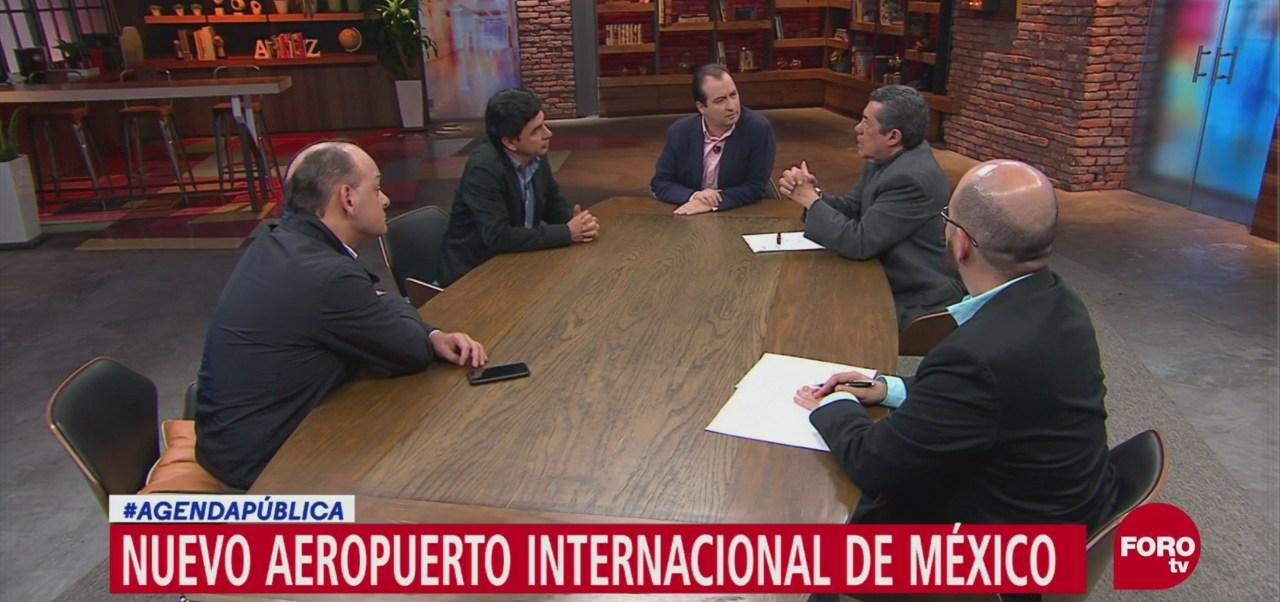 Nuevo Aeropuerto Internacional de México (NAIM), Jesús Ramírez, vocero del presidente electo Andrés Manuel López Obrador, entrevista