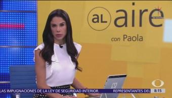 Al Aire con Paola Rojas Programa del 3 de octubre del 2018