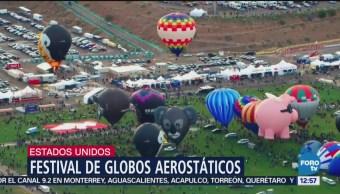 Albuquerque realiza tradicional festival globos aerostáticos