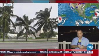Alerta Amarilla Municipios Quintana Roo Huracán Michael