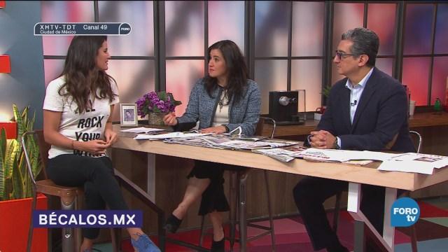 Alicia Lebrija agradece a donadores de Bécalos