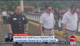 Policía Federal refuerza colaboración en frontera sur por caravana migrante