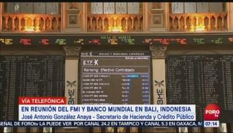 Antonio González Anaya Turbulencias bursátiles por episodio de volatilidad