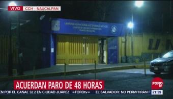 Anuncian Paro 48 Horas CCH Naucalpan