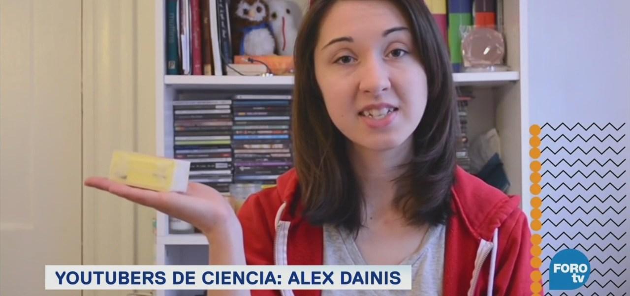 Aprende Ciencia Youtube Alex Dainis Youtuber Estadounidense Genetista