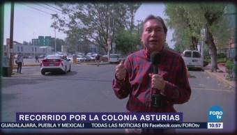 Armando Ramirez recorre la colonia Asturias