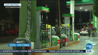Asaltan dos gasolineras en la CDMX